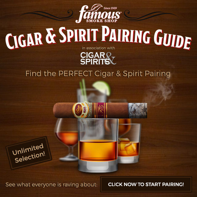 Famous Smoke Shop Launches Interactive Cigar Pairing Guide