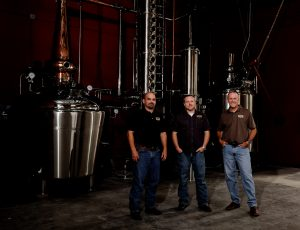 The Founders of Yellow Rose Distilling