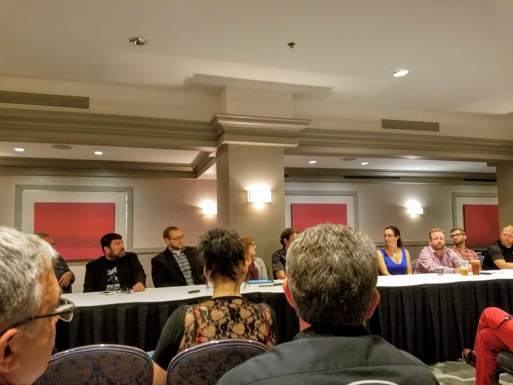Industry round table panel