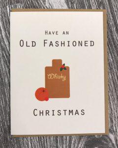 Whiskey Card